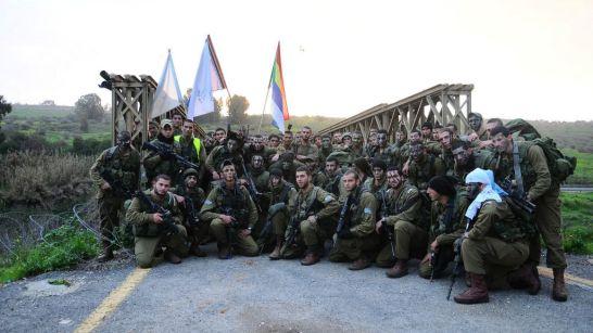 El batallón Herev —Espada—, integrado únicamente por drusos, antes de su disolución en 2015. Fuente: Times of Israel