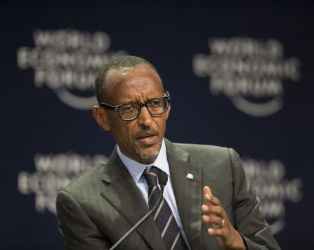 El presidente ruandés, Paul Kagame. Fuente: Paul Kagame (Flickr)