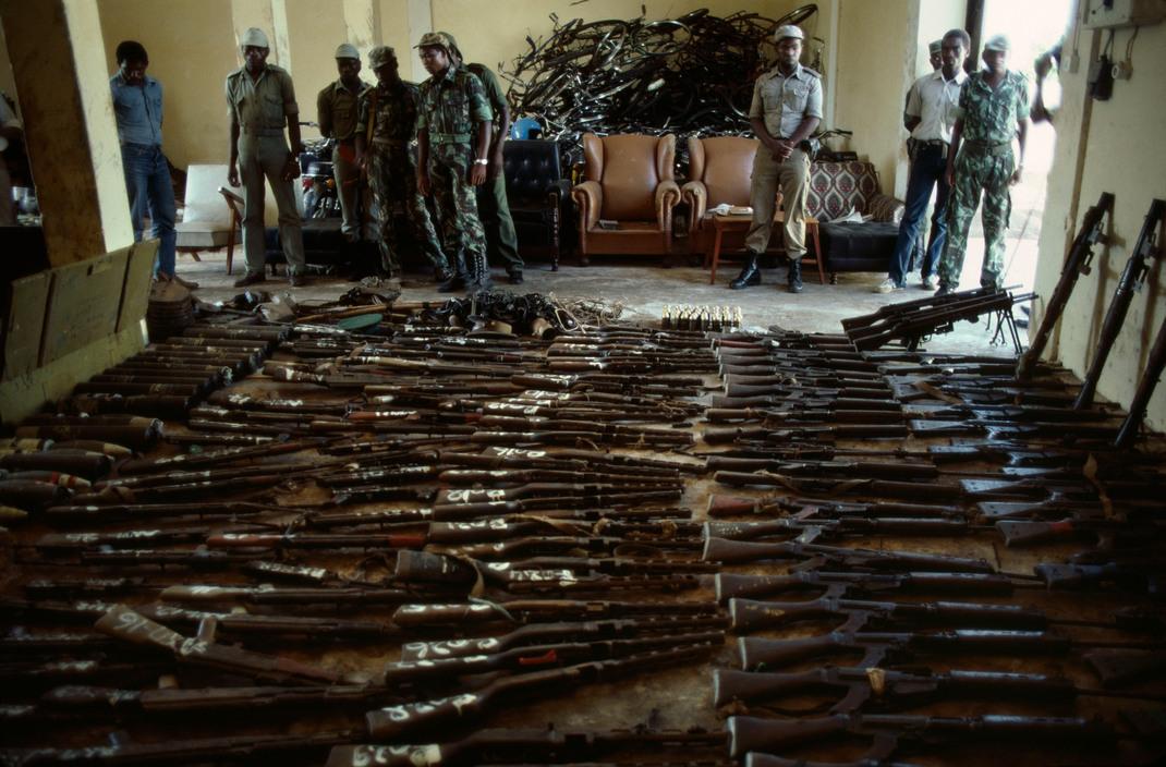 Mozambique, presa de su guerra detenida