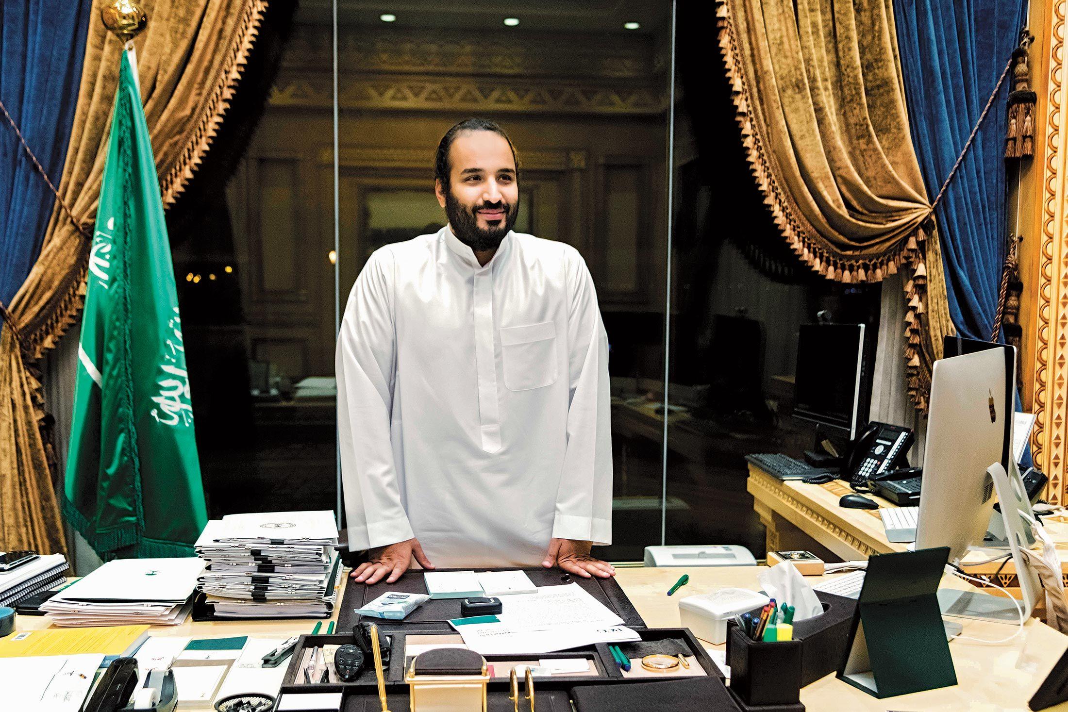 Mohamed bin Salmán, el rey del desierto