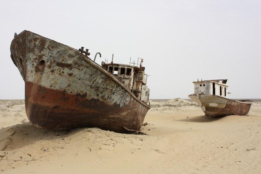 Aral, el mar que nunca existió