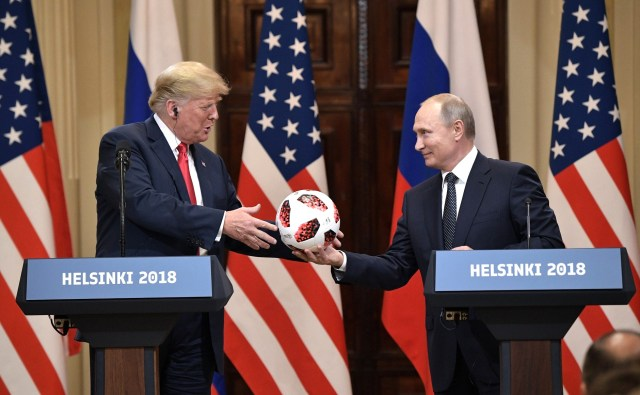Todas las conexiones rusas del presidente
