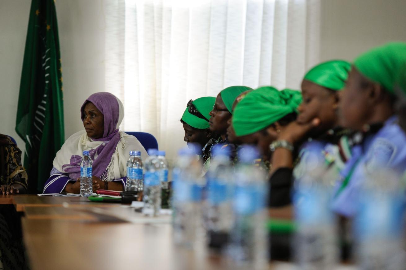 Las mujeres de la paz