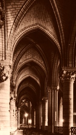 Earthlore Gothic Dreams: North Aisle of Notre Dame de Paris