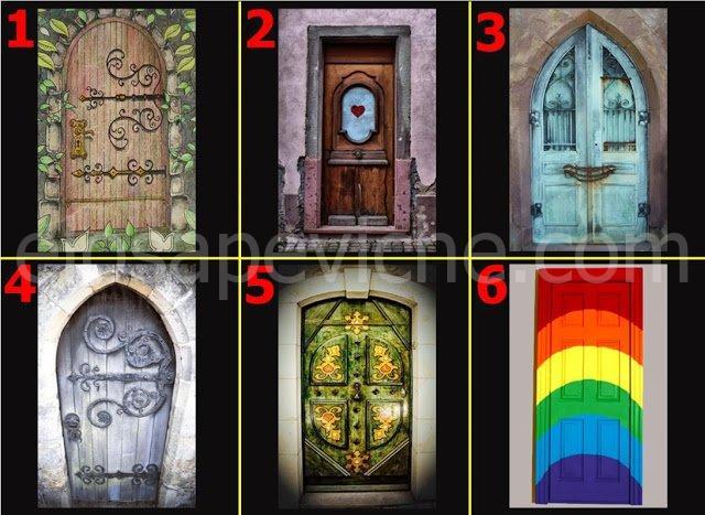 A quale porta busseresti?Scopri cosa nasconde il tuo subconscio