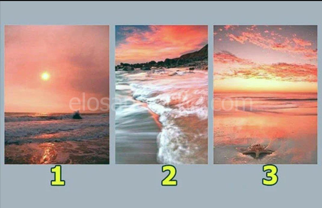 Scegliendo una foto del tramonto sul mare, scoprirai cosa sarà importante per te nei prossimi 3 giorni