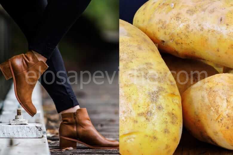 Ecco perché dovresti mettere una patata nella scarpa