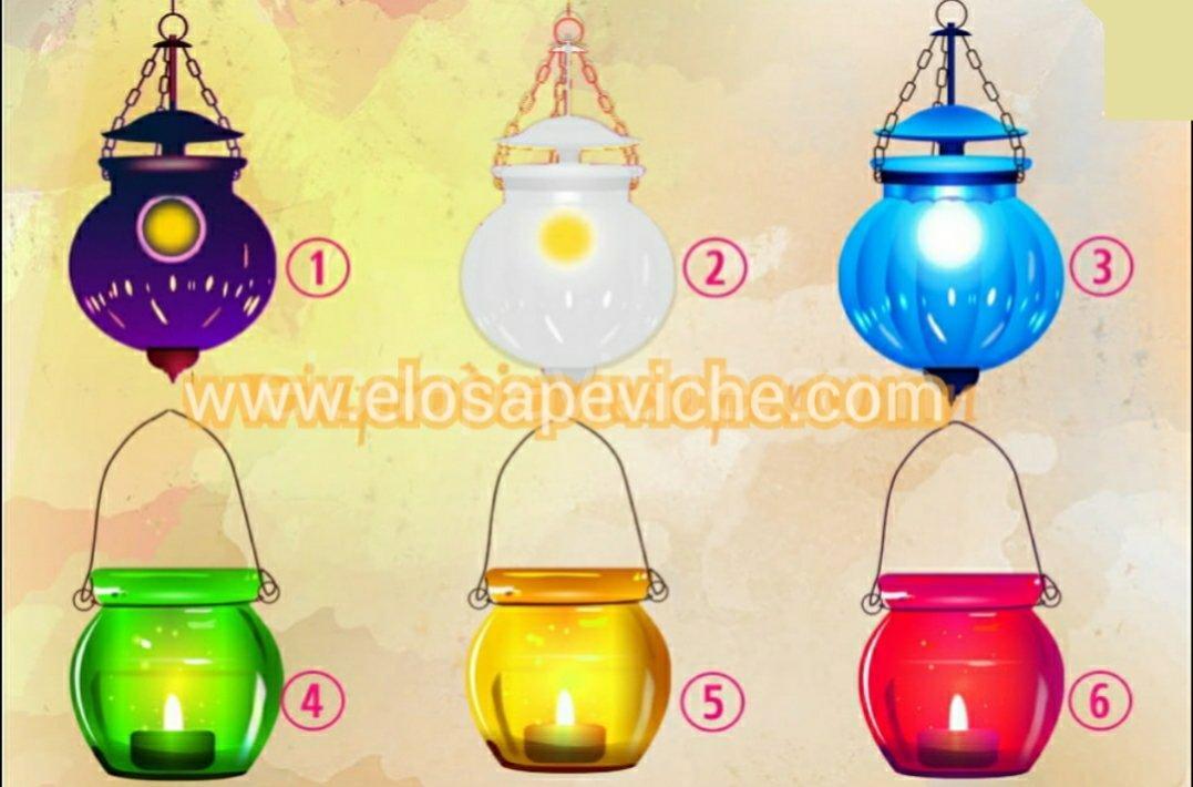 Scegli una lampada magica e ricevi un messaggio