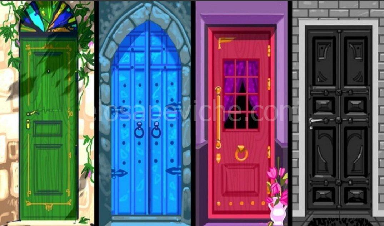 Scegli una porta e scopri quali sono i tuoi sentimenti più intimi