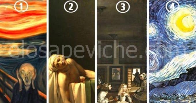 Scegli la tua opera d'arte preferita e poi scopri cosa ha da dire su di te!