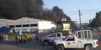 Cortazar fábrica incendio
