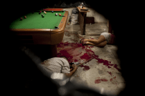POOL HALL ATTACK