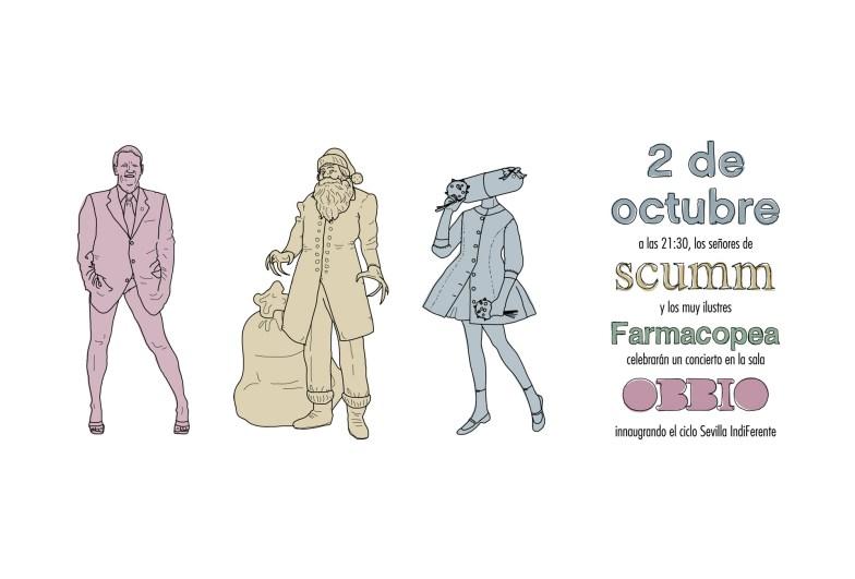 Scumm - Hilo Musical - Flanners invitación