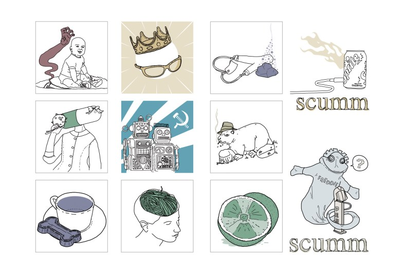 Scumm - Hilo Musical - Iconos y avatares