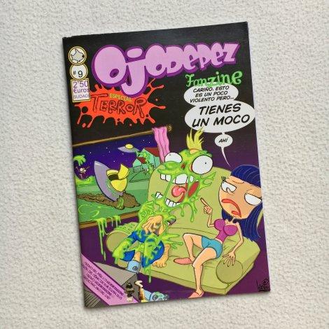 Ojodepez Fanzine 9 - Portada