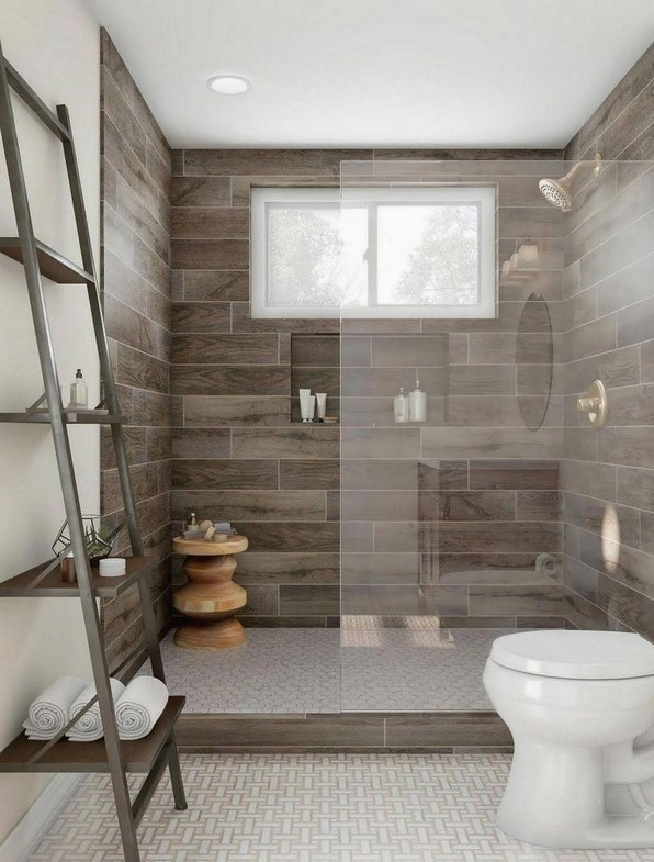 18 Fresh And Stylish Small Bathroom Remodel Add Storage Ideas 16