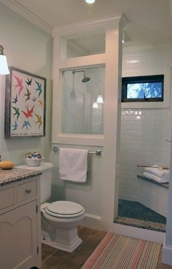 18 Fresh And Stylish Small Bathroom Remodel Add Storage Ideas 24