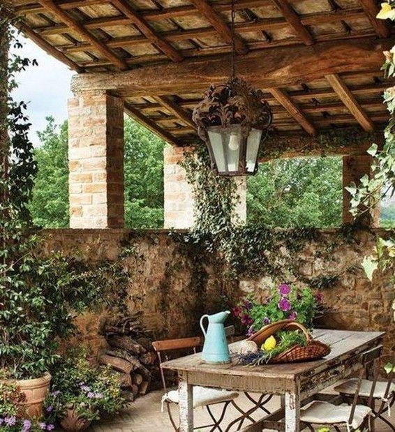 14 Amazing Rustic Italian Farmhouse Decor 02