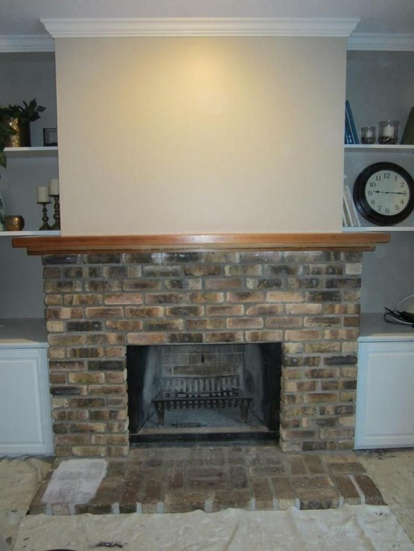 15 Awesome Built In Cabinets Around Fireplace Design Ideas 10