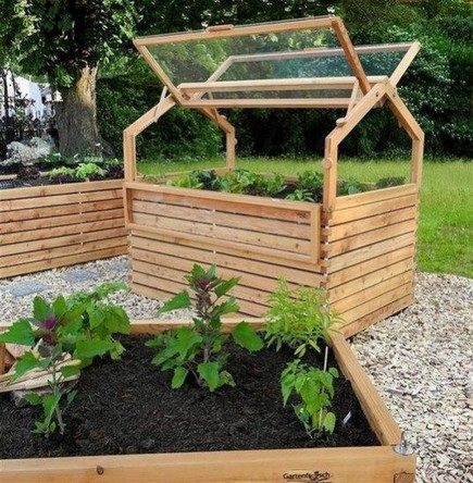 15 DIY Easy Access Raised Garden Bed System 04