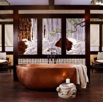 15 Japanese Bathtub Master Bathroom Interior Design 22