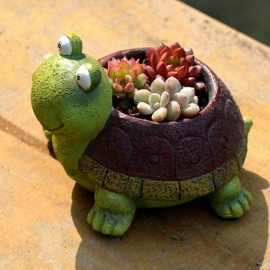 16 Creative DIY Succulent Turtle Tutorial 07