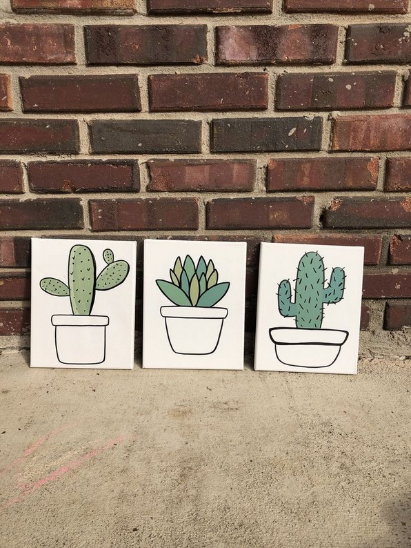 16 Creative And Beautiful Cactus Room Decor 19