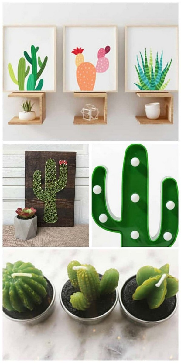 16 Creative And Beautiful Cactus Room Decor 26
