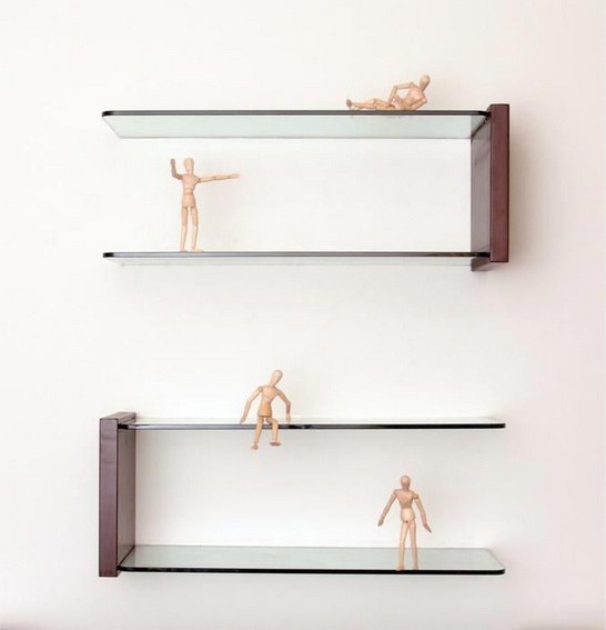 16 Floating Curved Glass Shelves Perfect For Storing Your Belongings 19