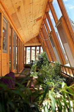 17 Amazing Greenhouse Earthship Home Design Made Of Recycled 07 1