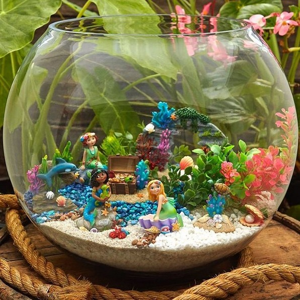 17 Easy DIY Magical Mermaid Garden Design Ideas 07