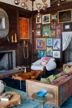 17 Rustic And Cozy Boho Cabin Makeover On A Budget 14