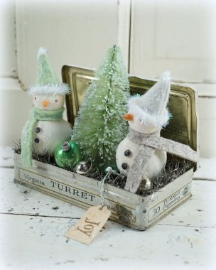 17 Vintage Christmas Decorating Ideas On A Budget 09