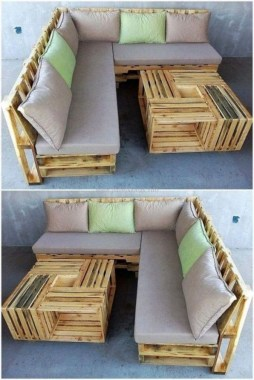 18 Awesome DIY Pallet Furniture Design Ideas 14