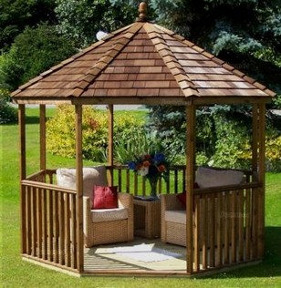 20 Extraordinary Garden Gazebo Ideas 13
