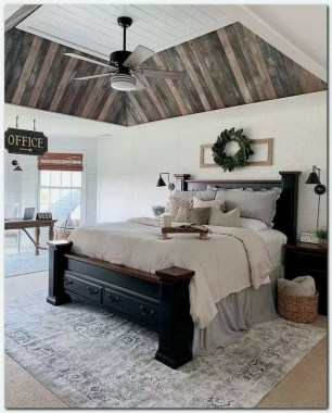 16 Amazing Rustic Furniture Master Bedrooms Ideas 05