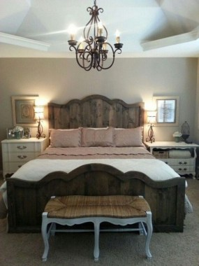 16 Amazing Rustic Furniture Master Bedrooms Ideas 20