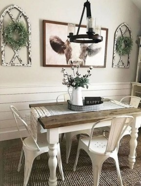 17 Amazing Rustic Dining Wall Decor Ideas 25