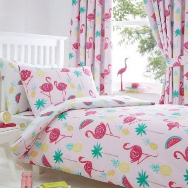 17 Good Pink Tropical Bedroom Ideas Fresh For Summer 08
