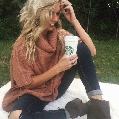 17 Rustic Colorful Jumpers Ideas For Winter 14