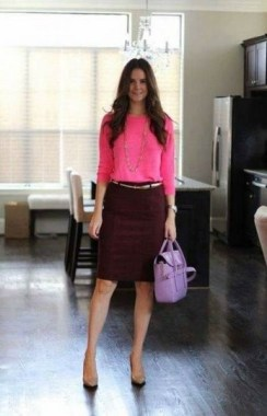 18 Impressive Pink Work Outfits Ideas For Girls 19
