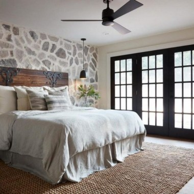 19 Amazing Warm Master Bedroom Makeover Fixer Upper Style Ideas 28
