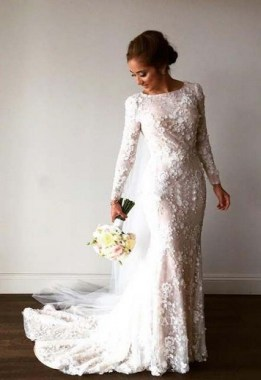 19 Unique Sleeve Wedding Dress Trends Ideas For 2019 18
