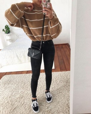 20 Newest Winter Outfit Ideas With Sweater 10