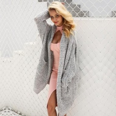 21 Cozy Summer Women Fashion Ideas With Cardigan You Need Try 03