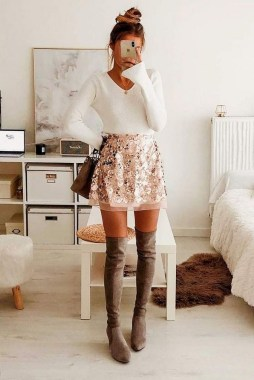 17 Fashionable Valentines Day Outfit Ideas 08