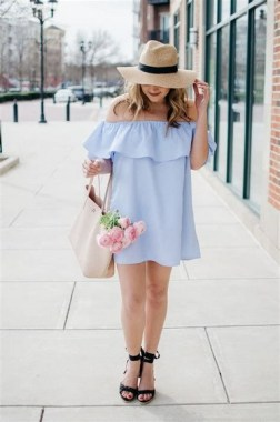 18 Charming Girly Outfit Ideas For Spring 16
