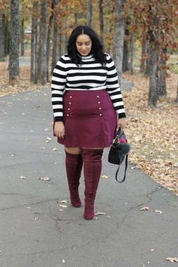 19 Cute Plus Size Winter Fashion Ideas 21