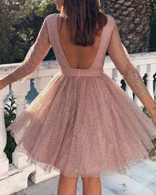 19 Fantastic Pleated Homecoming Dress Ideas 23