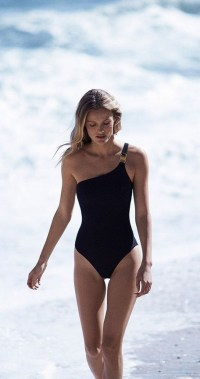 19 Stylish Summer Season Sexy Off Shoulder One Piece Swimsuit Ideas 19